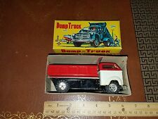 vintage daiya friction powered dump truck made in Japan in original box