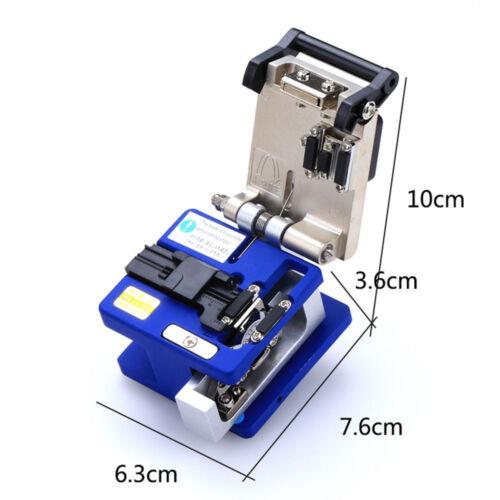 Fiber Optic FTTH Tool Kit mit Glasfaser Rotlicht Teststift FC 6S Cutter Neu