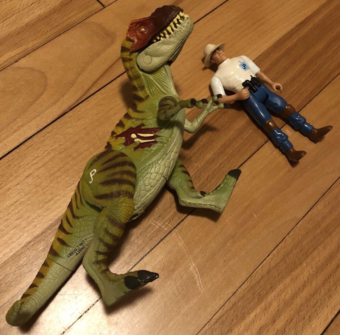 Jurassic Park 3 III Electronic Re-Ak-A-Tak T-Rex Dinosaur Allen Figure Working