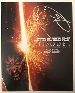 Star-Wars-RAY-PARK-DARTH-MAUL-Signed-Autograph-8-X-10