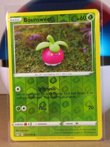 Darkness Ablaze  Holo Reverse  Mint//NM Pokemon Bounsweet  14//189 S/&S