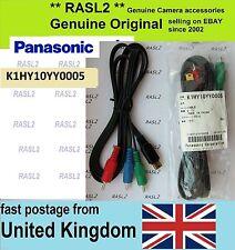 Original Panasonic Cable Video Componente k1hy10yy0005 Tm300 Hdc-Hs250 Hs300 Sd20