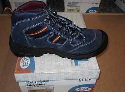 Scarpe da lavoro di sicurezza antinfortunistica alta scarpa AXEL TG 40 | eBay