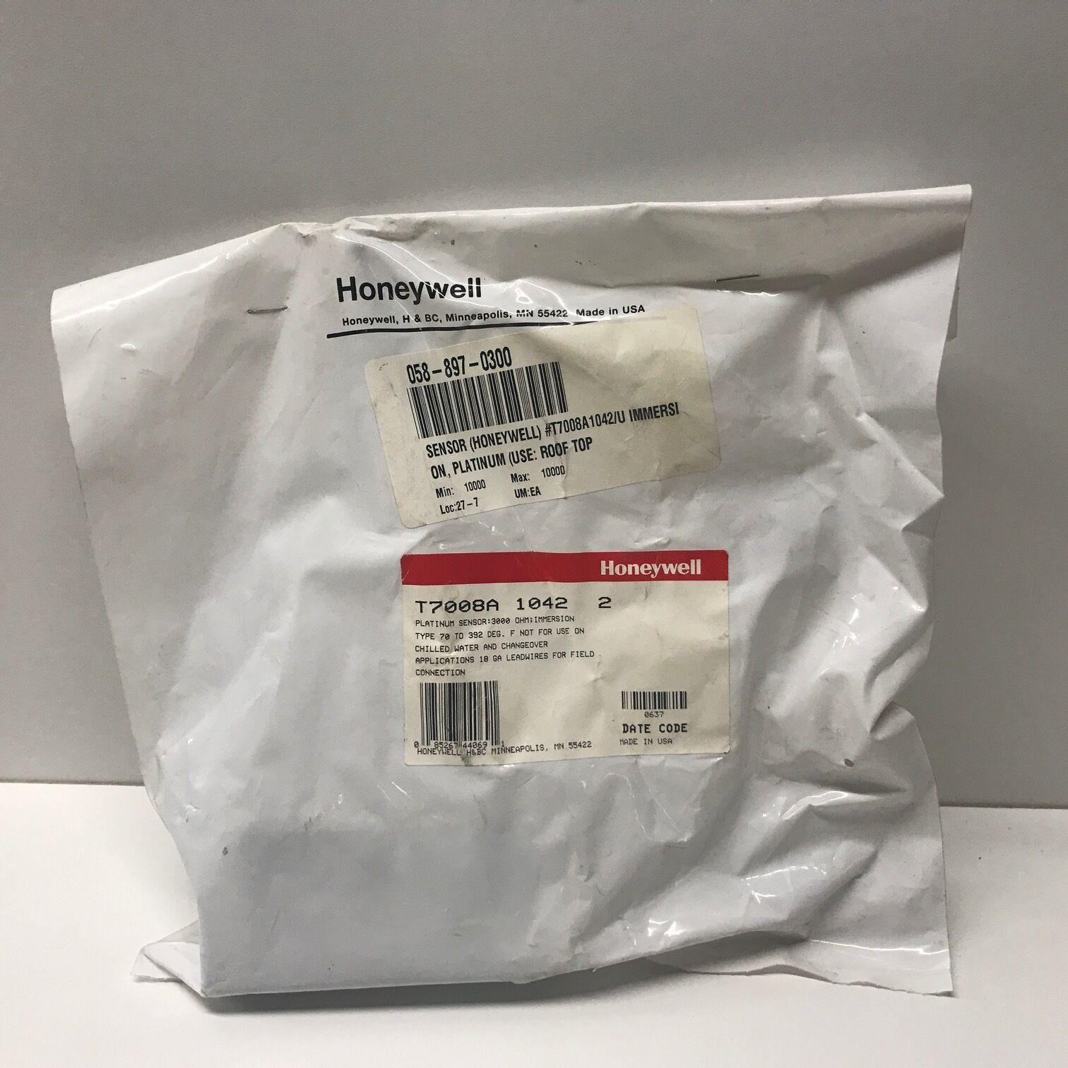 Honeywell T7008A 1026 Platinum Immersion Sensor 20-392F 21141