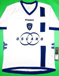 NWT SC BASTIA 2012 13 Kappa L Away Soccer Jersey Football Shirt ... 9d7f4fef3b935