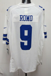 brand new 41eb7 9a4d0 Details about TONY ROMO WHITE 4XL NIKE JERSEY MENS STITCH NFL FOOTBALL  DALLAS COWBOYS NEW