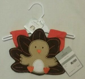 NWT Carter/'s Unisex MY FIRST EVER THANKSGIVING BIB Colorful Snap Closure