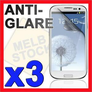 3x-Anti-Glare-Matte-Screen-Protector-LCD-Film-Guard-for-Samsung-Galaxy-S3-i9300