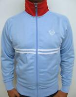 Sergio Tacchini - Dallas Tracksuit Top in Sky Blue - McEnroe 80s Dyer Business