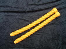 For US DIVERS mistral  Vintage scuba YELLOW silicone hoses