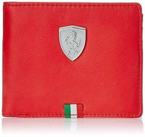 puma ferrari red wallet