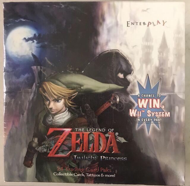 Enterplay Cards The Legend of Zelda 2007 Twilight Princess Booster Box 24 Packs