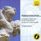 """Mozart: Serenade in B flat major, KV 361 """"Gran Partita""""; Fantasia in F minor, KV 608 (CD, Sep-2013, Tacet)"""