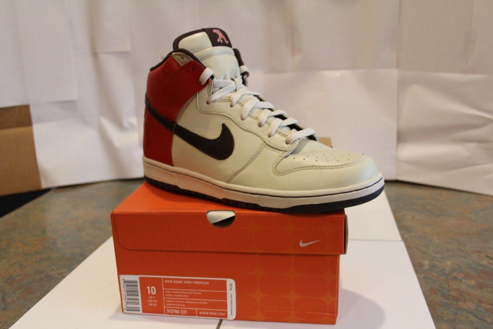 Nike schiacciare alto premio - nero fives - 2006 nuova di zecca nel riquadro di Uomota!!!!!!