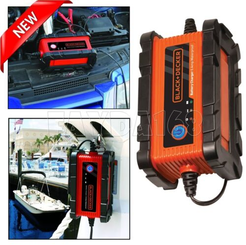 Smart Compact Battery Charger 12V Booster Maintainer Car Truck Motorcycle RV New