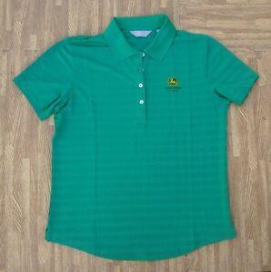 277e5eb9 Image is loading John-Deere-Classic-Callaway-Golf-Polo-Shirt-Ladies-