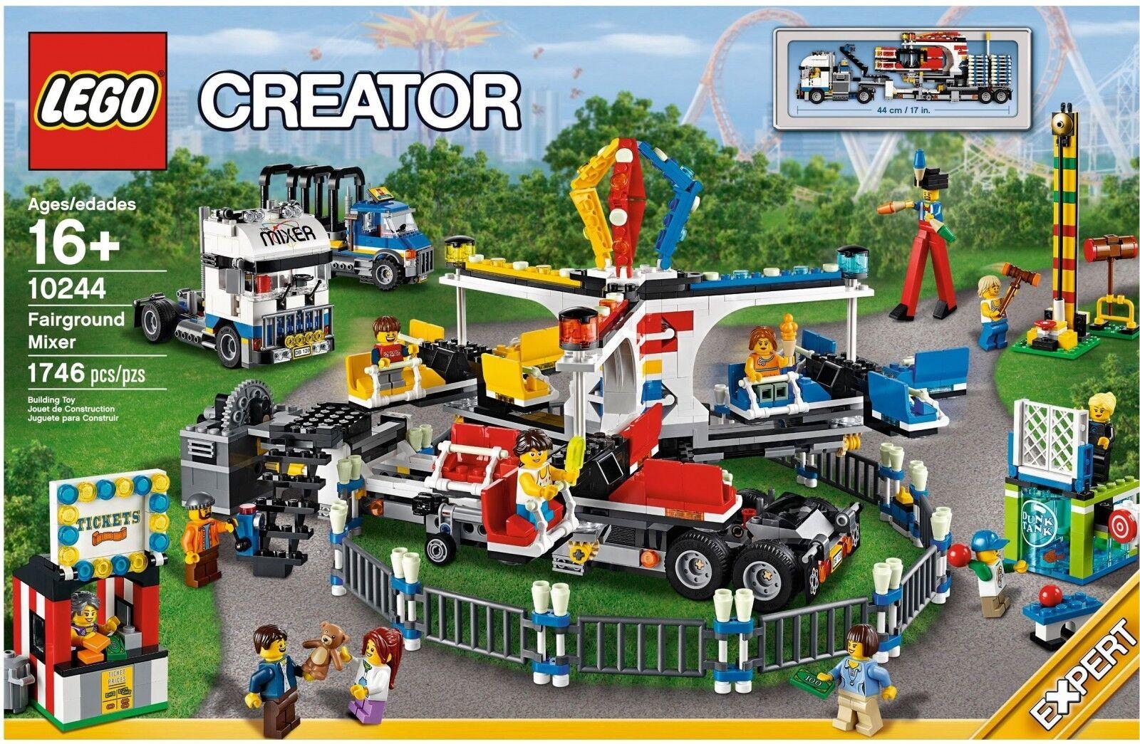 LEGO ® Creator 10244 anno di mercato-business di guida NUOVO OVP _ FAIRGROUND MIXER NEW MISB
