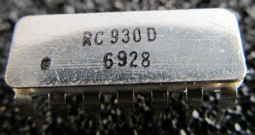Rc930d Raytheon-DTL circuito dic14