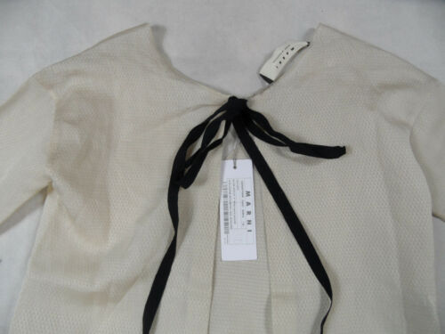 scialle 42 M aperta Blusa 36 Silk Nude New Powder Dt sul retro Gr Marni qRw4fx5B4