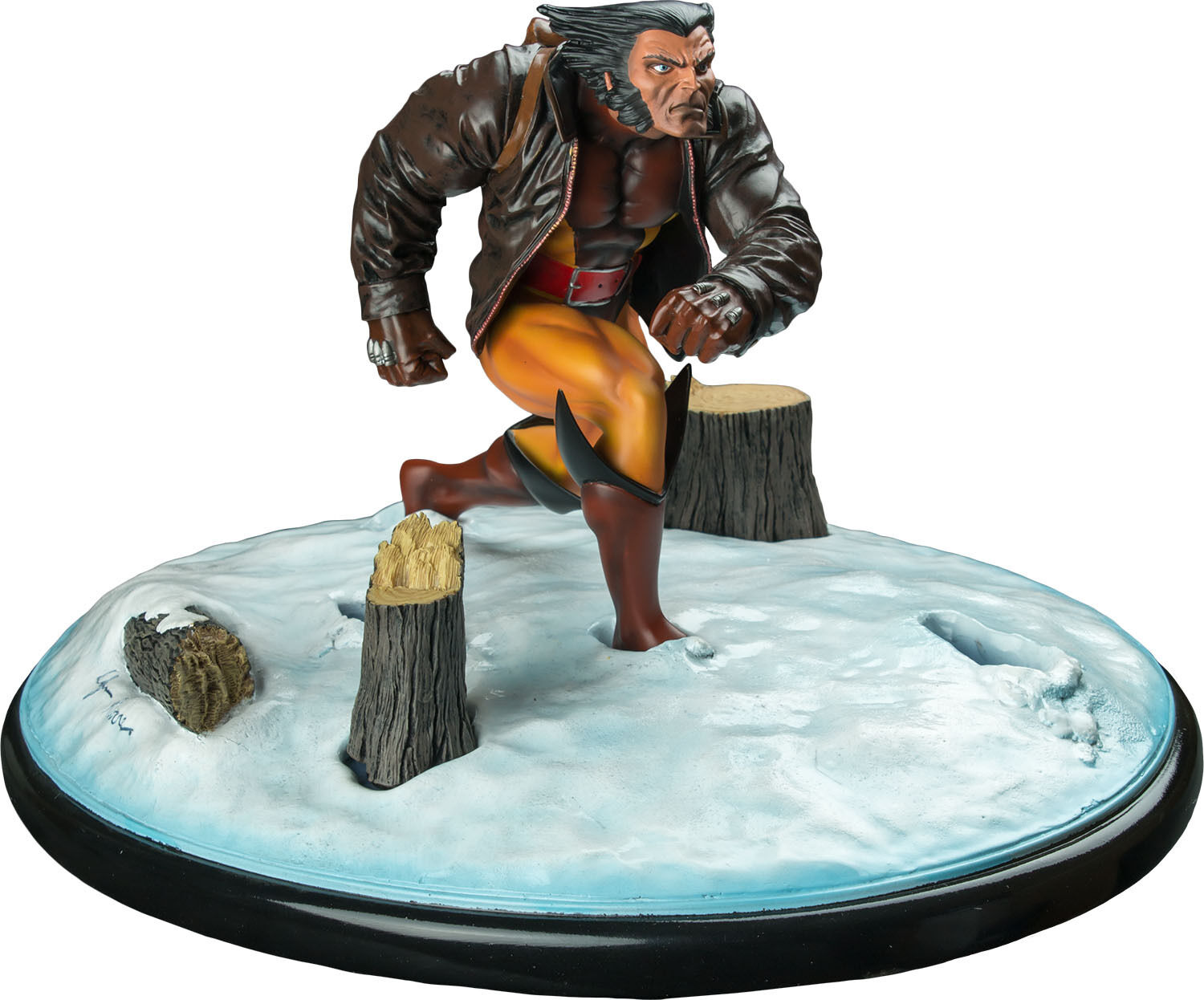 X-MEN  Wolverine In Snow 9  Premier Collection Statue (Diamond Select)  NEW