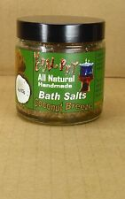 113gr Coconut Breeze Badesalz all natural handmade von The Coal Pot aus Dominica