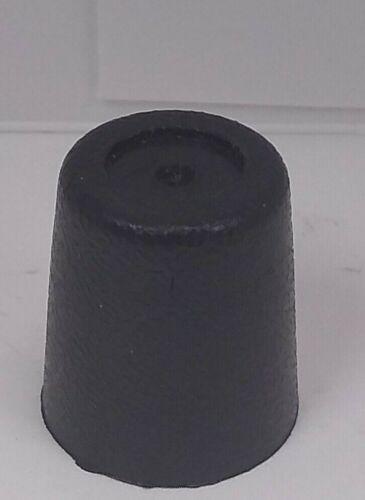 Vinyl Vintage Butt Caps Black