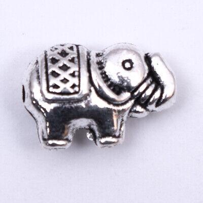 Lot de 14 perles intercalaires forme aile en métal argenté vielli,fimo-pir125