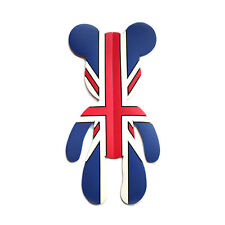New Bear Sticker Union Jack UK Flag Style Door Guard Protection for MINI Cooper