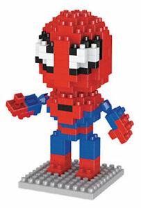 LEGO-MATTONCINI-SPIDERMAN-3D-SUPEREROI-CON-SCATOLA-NUOVI-160-PEZZI-COSTRUZIONI