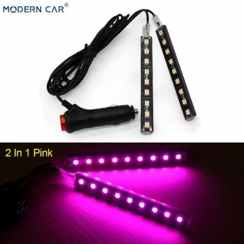 Auto Innenraum LED Licht Innen Boden Streifen Lampe Dash Zigarettenanzünder Teil