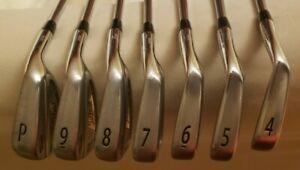 Titleist AP2 Forge Iron Set 4-PW Right Hand S300 Stiff Flex Steel Shaft Golf