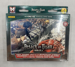 Panini Metax Attack On Titan Dual Starter Deck 613297916031 Ebay