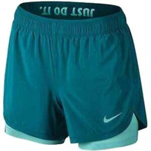 0fb67da8aeb Details about Nike Dry Women s 2 in 1 Flex Training dri-fit Shorts AH8478  467 size Large New