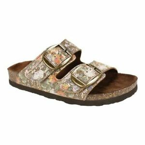 FOOTBEDS-BY-WHITE-MOUNTAIN-HARLOW-SLIDE-SANDALS-SIZE-7-NEW