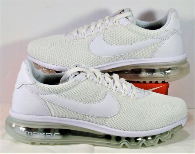 sneakers for cheap f9aa0 81022 Nike Air Max LD Zero Triple White Womens Running Shoes Sz 8.5 NEW 896495 001