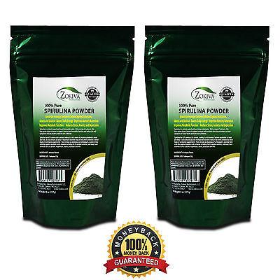 Spirulina Powder 1lb  - 100% Pure Premium Nutrient-Dense Algae