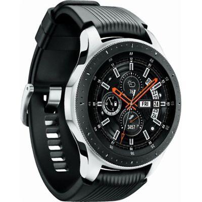 Used Samsung Galaxy Watch SM-R800 46mm Silver Case Classic Buckle - Eu Version