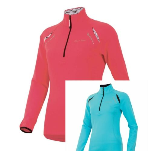 PEARL IZUMI $80 Aurora Thermal Shirt Jacket Top 1//4 Zip Womens Medium Pink NWT!