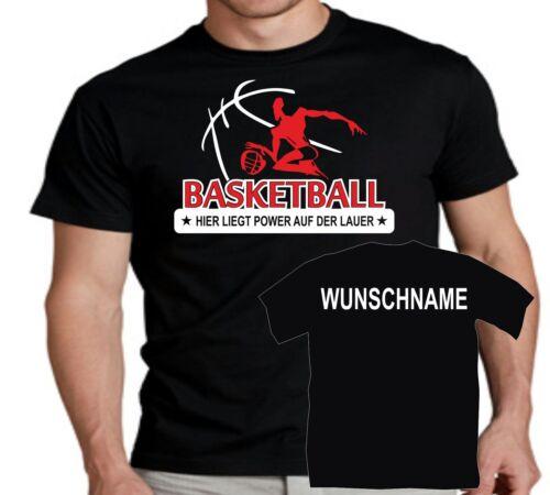 Fanshirt Basketball T-Shirt Trikot Training Vereinsshirt Spielershirt Logo 14