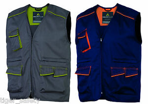 Delta-Plus-Panoply-M6GIL-Panostyle-Mens-Work-Vest-Gilet-Bodywarmer-Tool-Vest