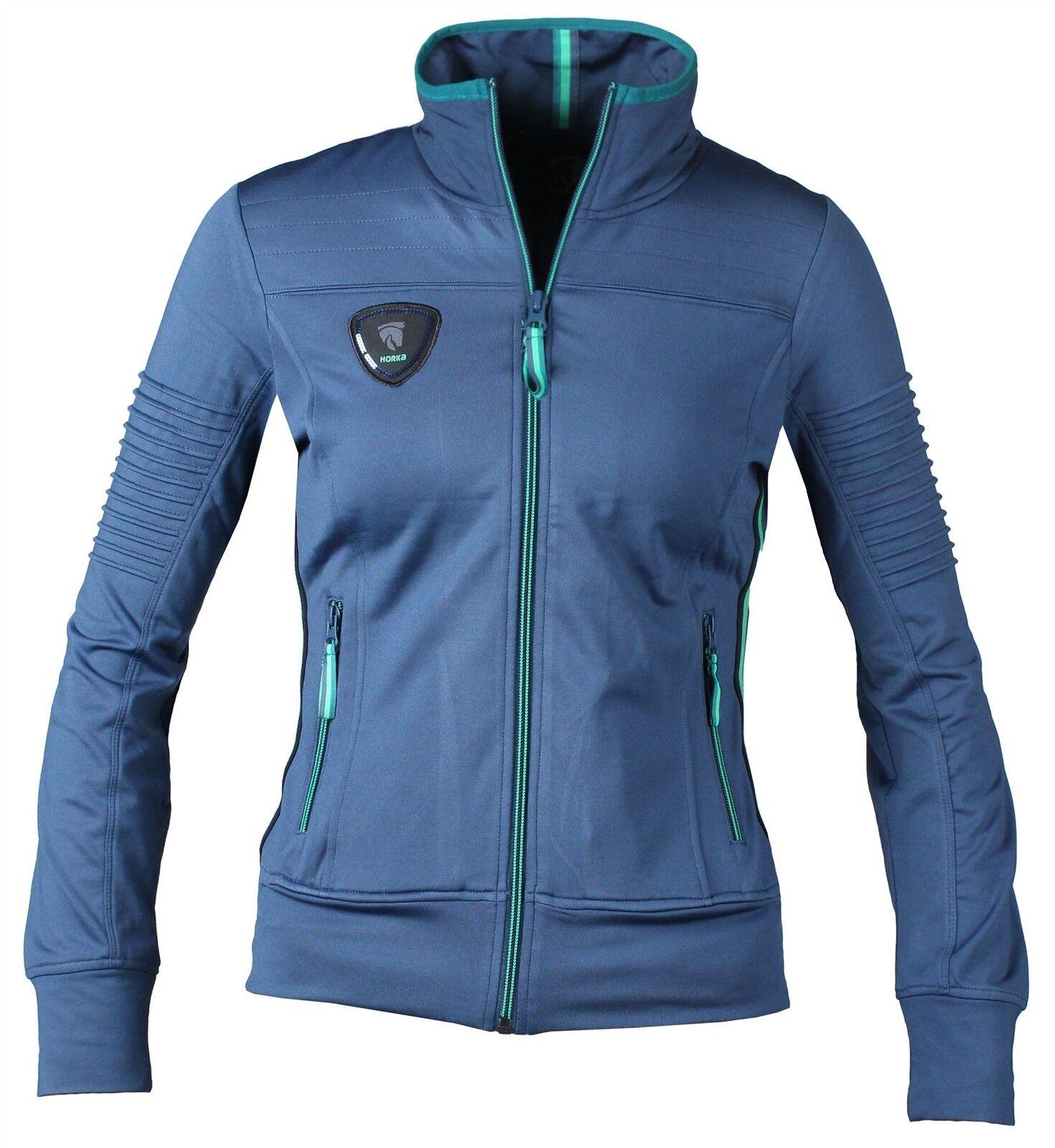 Horka Horka Horka Equestrian Ladies Florida Sweater Front Badge Lightweight & Breathable 60c1fc