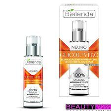 Bielenda neuro glicol + Vitc Exfoliante neurometic Rejuvenecedor suero noche BN078