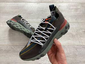 Nike-reagire-WR-ISPA-velluto-marrone-UK8-US9-EU42-5-Scarpe-da-ginnastica-da-uomo-AR8555-200