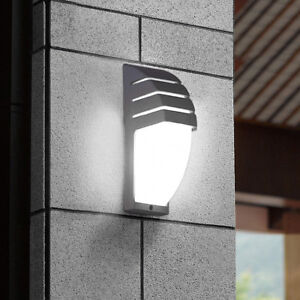 Image Is Loading 7W LED Exterior Light Fixture Wall Sconce Lamp