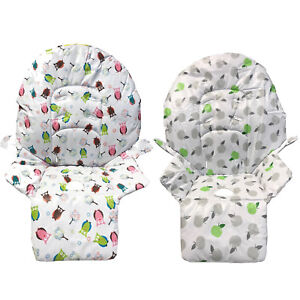 Red Kite Replacement highchair hi lo fabric cover Fits many brands Isafe