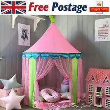 Children/Kids Pink Pop-Up Castle Play-Tent Play-House Indoor/  sc 1 st  eBay & Tiny Land Princess Castle Play Tent for Children   eBay