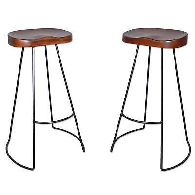 Swell Carolina Chair Table Brera 31 Inch Wood Seat Tractor Stool Chestnut Black 757973615990 Ebay Creativecarmelina Interior Chair Design Creativecarmelinacom