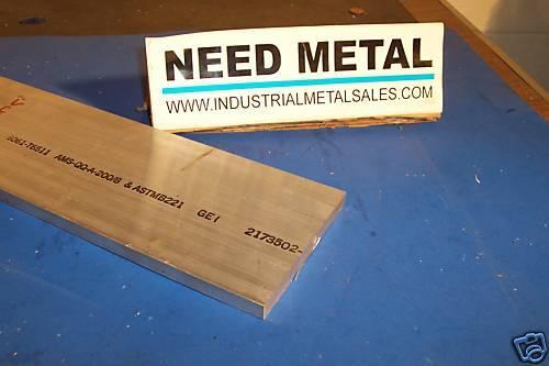 """1//2/"""" x 5/"""" x 12/""""-Long 6061 T6511 Aluminum Flat Bar--/>.500/"""" x 5/"""" 6061 Flat Bar"""