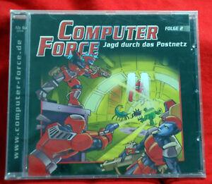 Computer-Force-2-Jagd-durch-das-Postnetz-Hoerspiel-CD-NEU-2004
