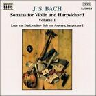 Bach: Sonatas for Violin and Harpsichord, Vol. 1 (CD, Oct-2000, Naxos (Distributor))